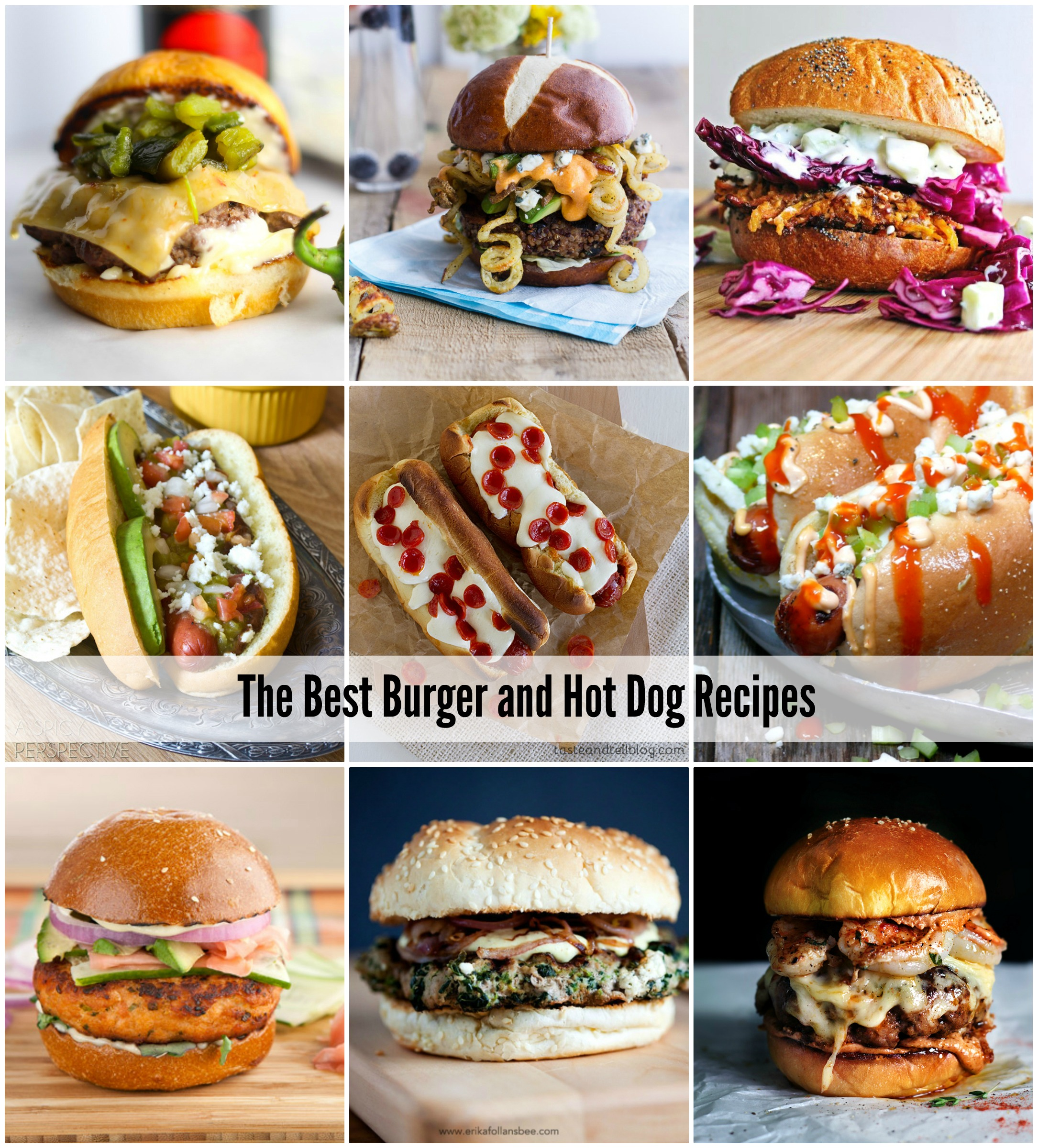 The very best burger and hot dog recipes for your next cookout - AOL ...