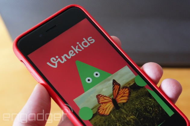 Vine Kids delivers family-friendly video loops