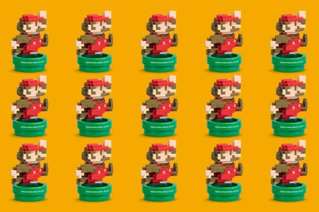 8-bit Mario Amiibo