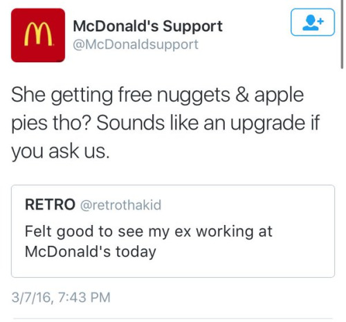 mcdonalds twitter insult, mcnuggets diss