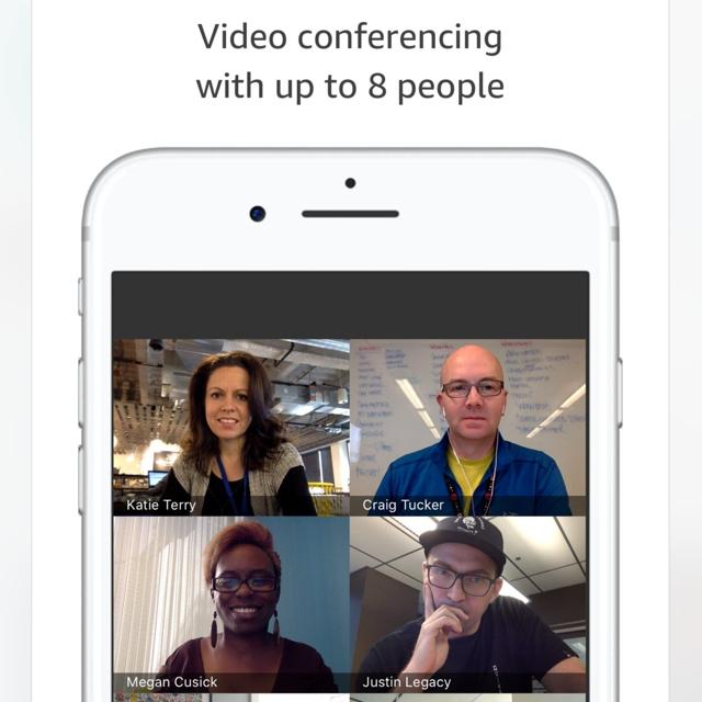 Chime: Jetzt auch Videokonferenzen von und mit Amazon