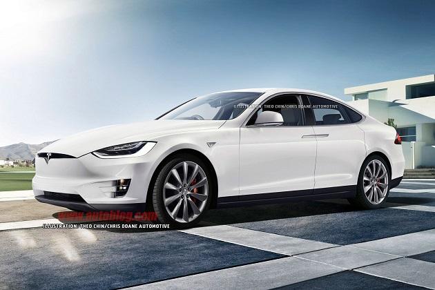 【噂】テスラの低価格な新型電気自動車「モデル3」、発表はジュネーブ・モーターショー?