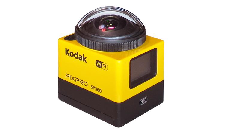 Ceron - マスプロ電工、KodakブランドのアクションカメラSP360を国内発売。360度
