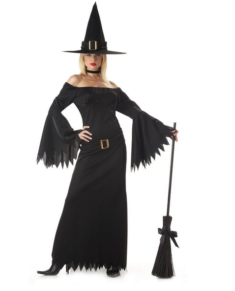 Discounted Witch Halloween Costume