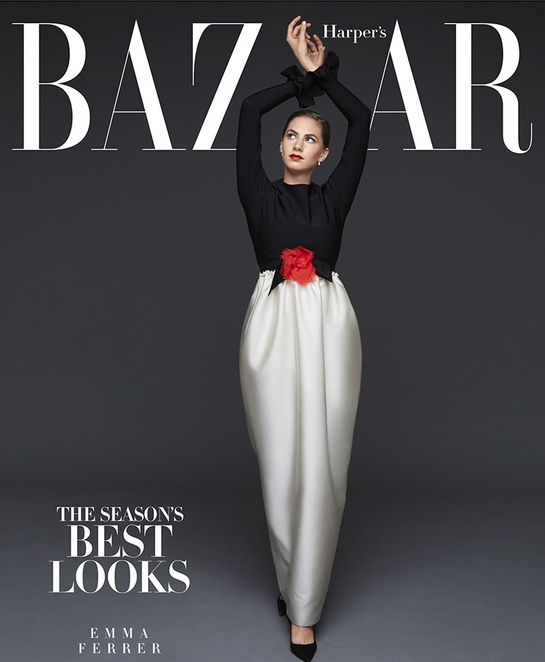 Audrey Hepburn's granddaughter covers Harper's Bazaar September issue