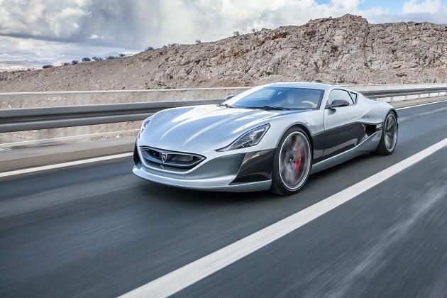 リマック、EVスーパーカー「コンセプト_ワン」の市販モデルをジュネーブで公開