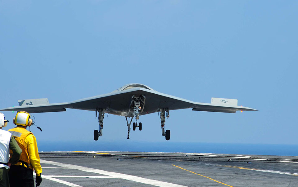 The Navy's unmanned drone project gets pushed back a year