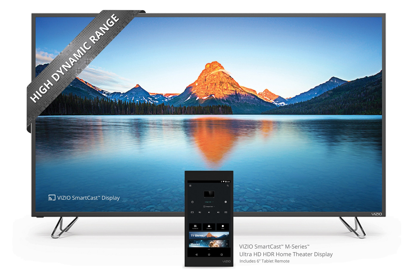 Vizio's cheaper tablet-controlled 4K TVs start rolling out