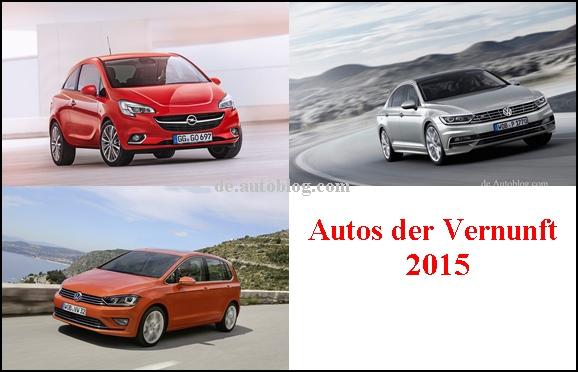 Autos der Vernunft 2015
