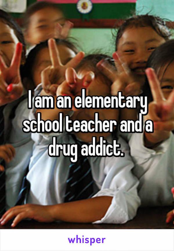 Teacher Confessions