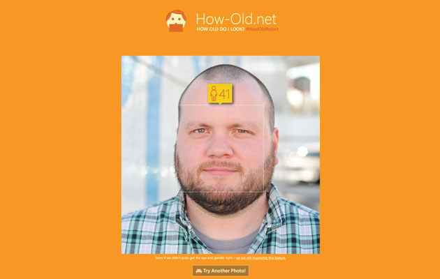 Microsoft can guess your age using facial recognition