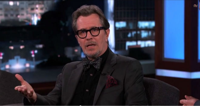 Gary Oldman, Apology, Apologizes, Jimmy Kimmel