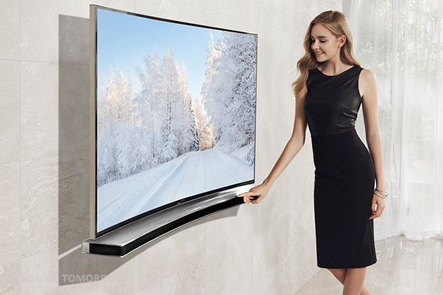 Samsung has a soundbar that matches your curved TV