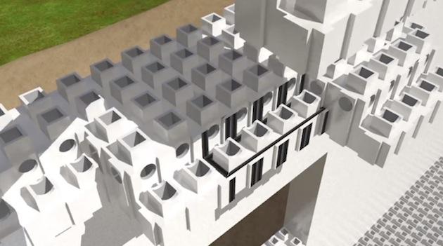 Kite Bricks: Mit Ziegelstein-Lego zum Eigenheim