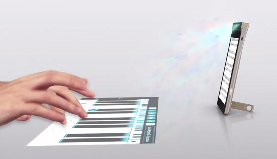 lenovo smart cast handy mit laser projektor macht den. Black Bedroom Furniture Sets. Home Design Ideas