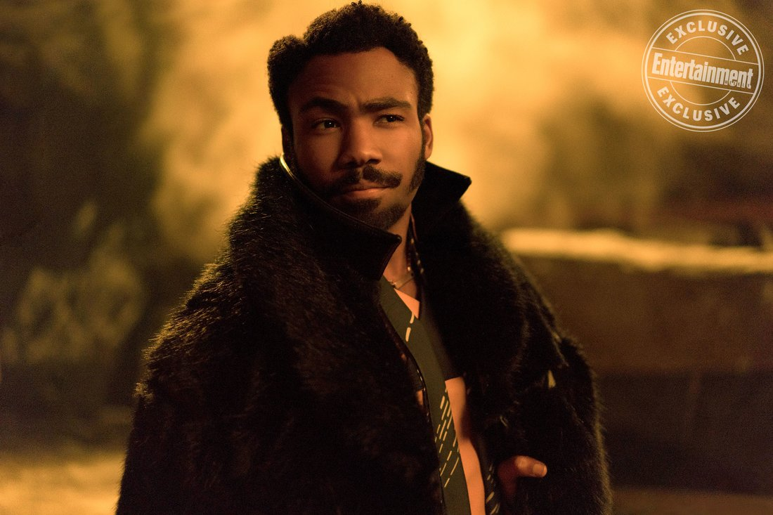 SOLO: A STAR WARS STORY<br /> Donald Glover as Lando Calrissian