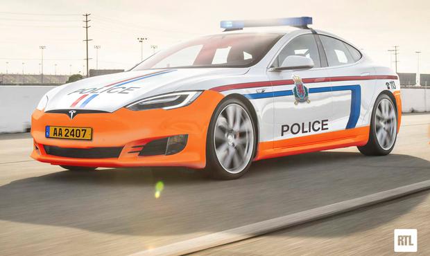 La policía de Luxemburgo perseguirá en breve a los delincuentes en flamantes Tesla