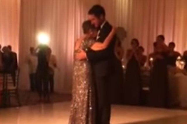 cancer mother son wedding dance