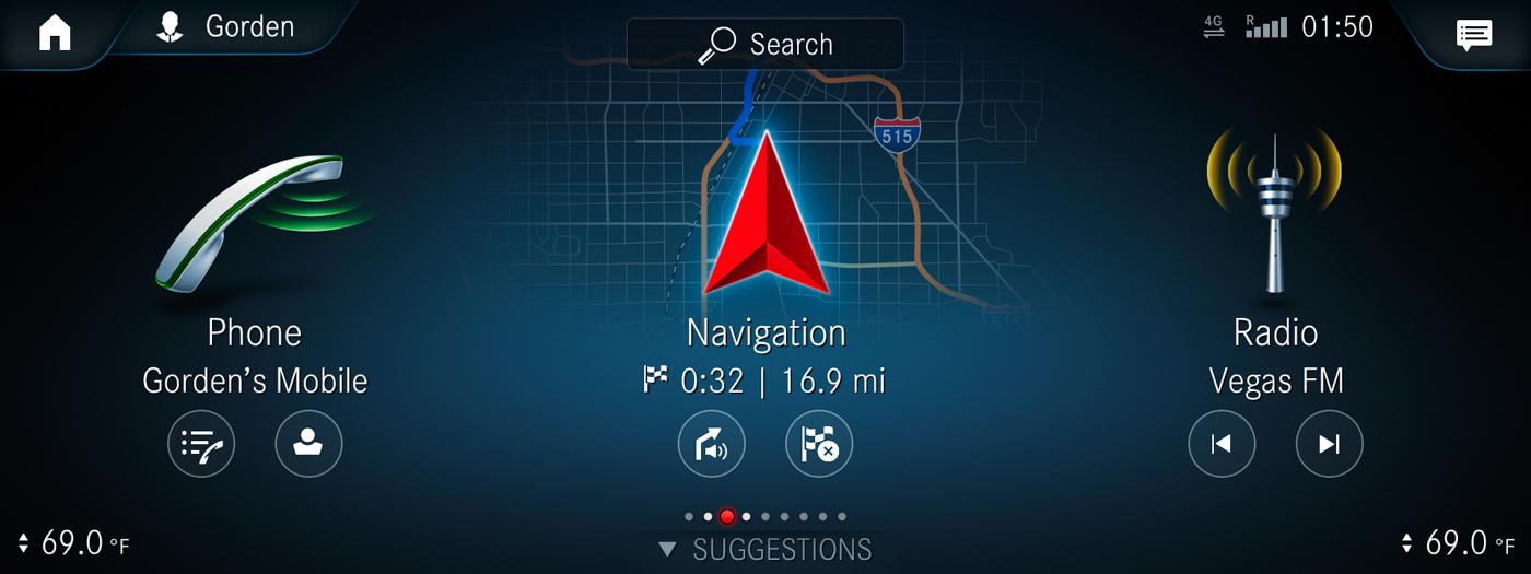 "Das neues Infotainment-System ""MBUX"" (Mercedes-Benz User Experience). Innovative Technologie basierend auf künstlicher Intelligenz. Intuitives Bedienkonzept. Augmented-Reality-Technologie. Touchscreen. Sprachassistenz – Hey Mercedes // The new infotainment system ""MBUX"" (Mercedes-Benz User Experience). Innovative technology based on artificial intelligence. Intuitive operating concept. Augmented-Reality-Technology. Touchscreen. Voice Control – Hey Mercedes"