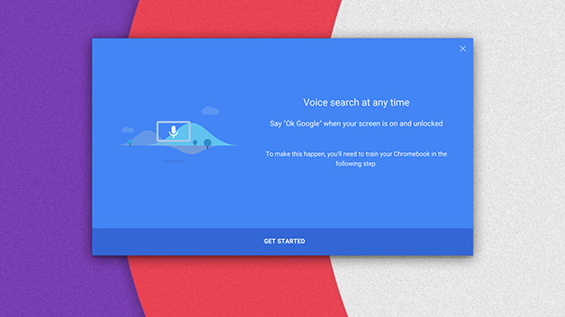 Chromebooks are getting always-on 'OK, Google' voice search