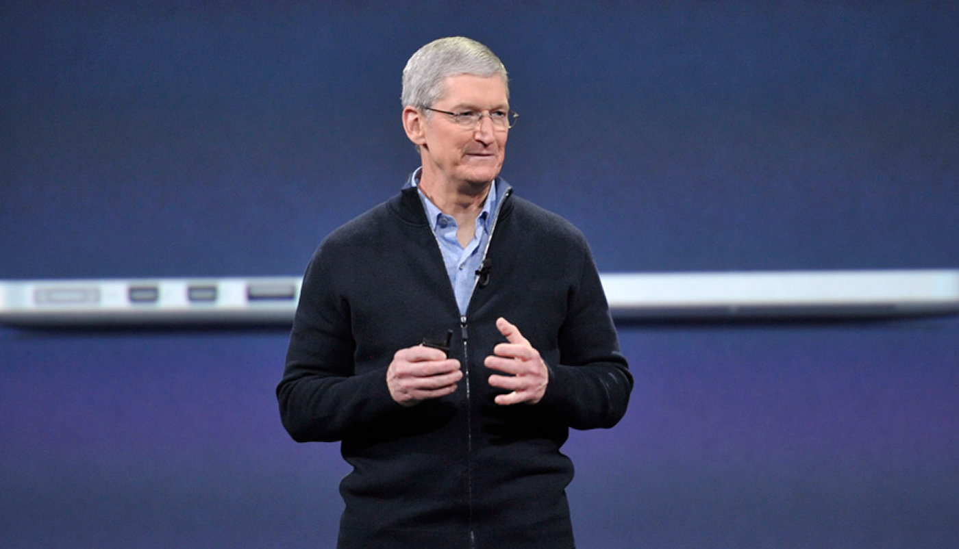 Tim Cook starts today's Apple event with some words for the FBI