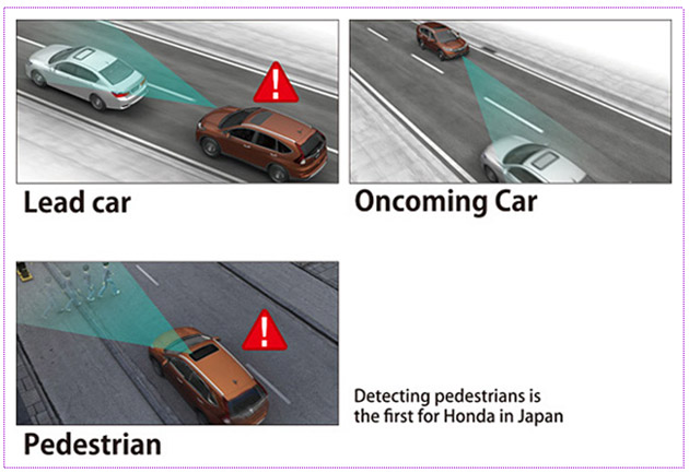 Honda's pedestrian-detecting technology is coming to cars this year