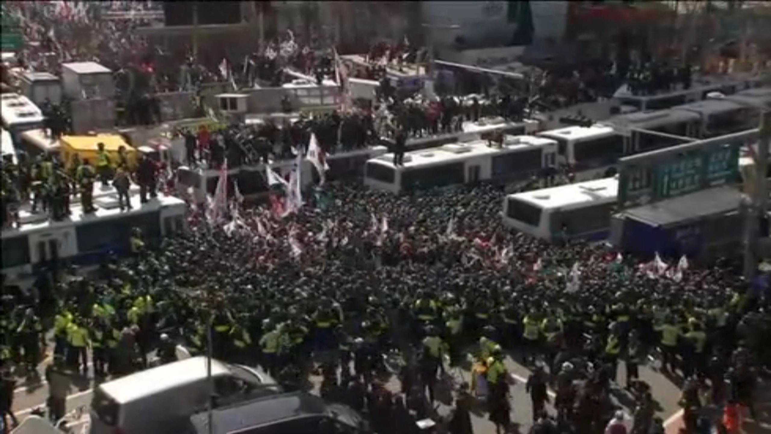 Corée du Sud : destitution officielle de la présidente Park Geun-hye