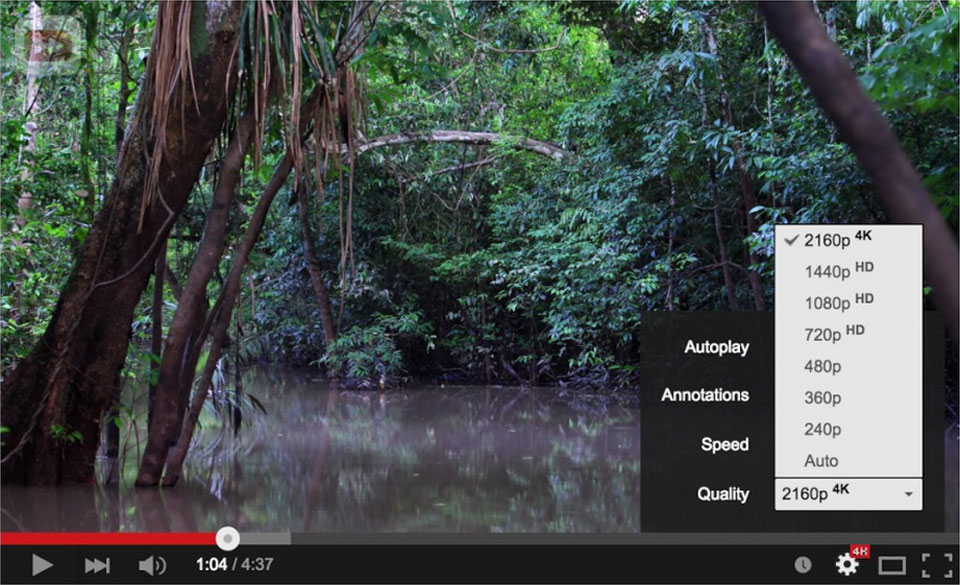 Here's how YouTube is making it easier to watch 4K video