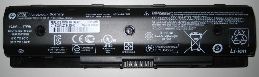 HP weitet Akku-Rückruf um 101.000 Einheiten aus