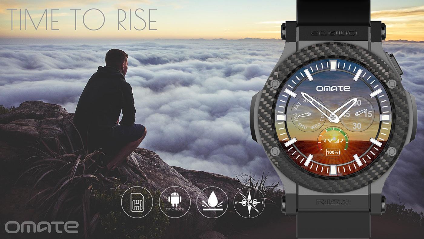 Omate Rise: Eine 3G-Smartwatch für nur 200 Dollar