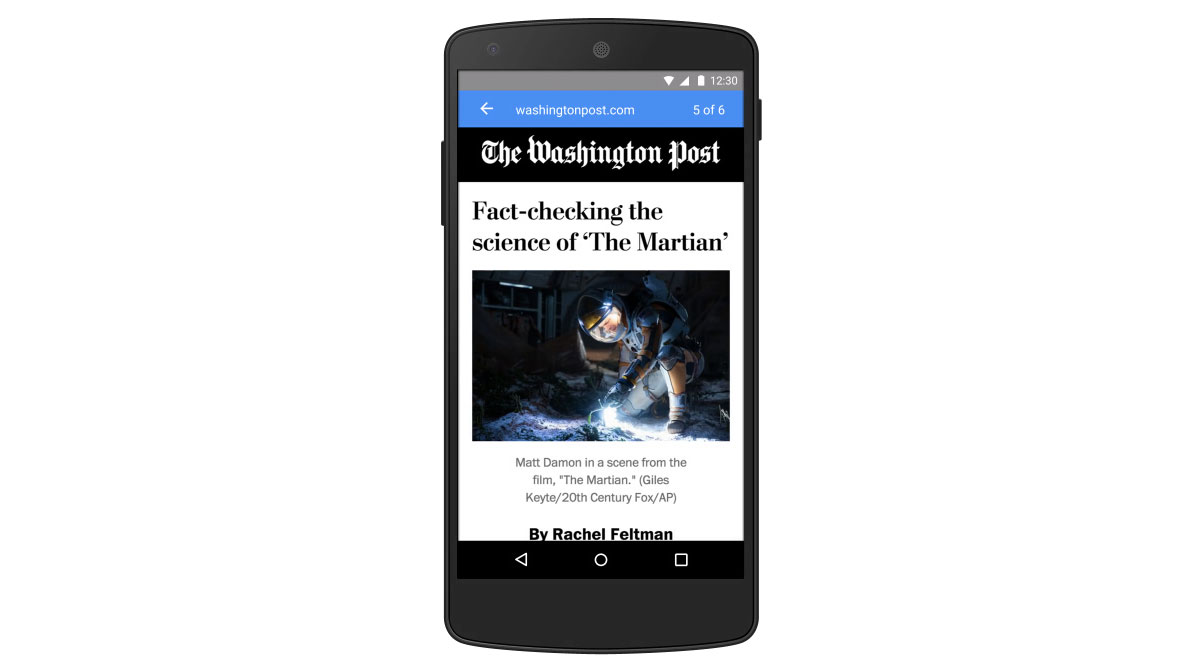 Google wants to make mobile web browsing faster