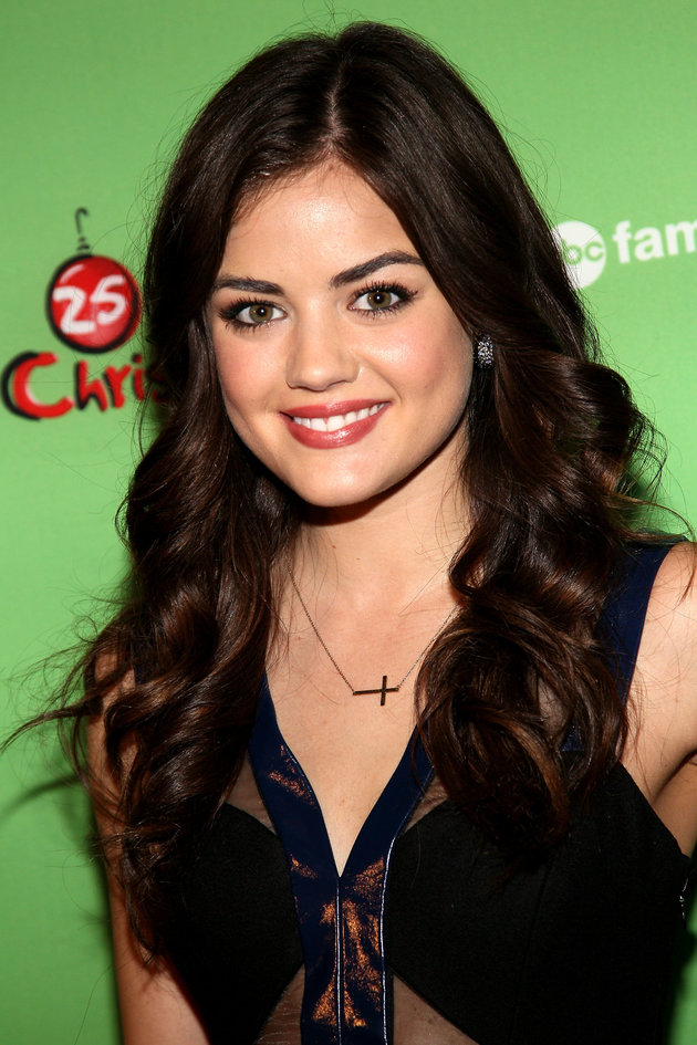 NEW YORK, NY - DECEMBER 04:  Lucy Hale attends the 2011 ABC Family 25 Days of Christmas Winter Wonderland event at Rockefeller Center on December 4, 2011 in New York City.  (Photo by Steve Mack/FilmMagic)