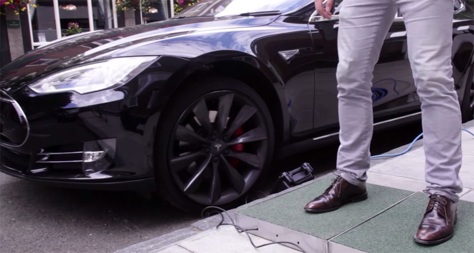 Experiment charges your Tesla with footsteps