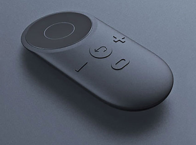Oculus VR's early controller concept