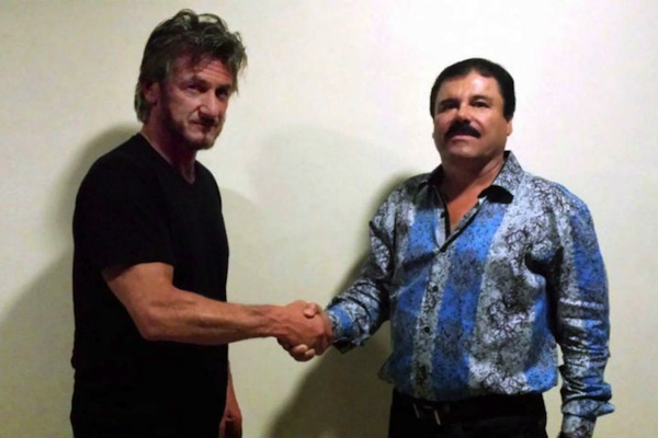 reasons sean penn is a douche, met with el chapo