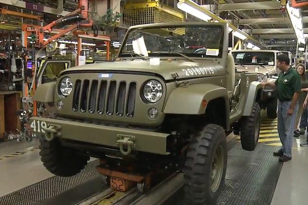 ジープ、誕生75周年を記念して第二次世界大戦時の軍用車を再現した「ラングラー」を製作!