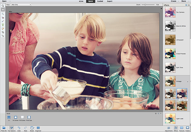 Photoshop and Premiere Elements 13 deliver new editing tools