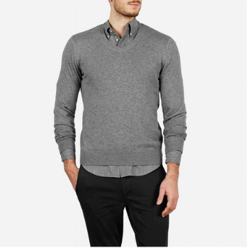 The Knit Pullover V-Neck