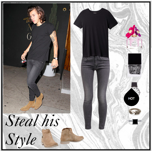 one direction harry styles polyvore set