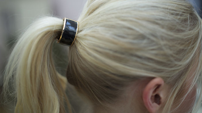 Give your ponytail a chic upgrade