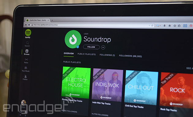 Soundrop listening rooms to shut down after Spotify kills it app platform