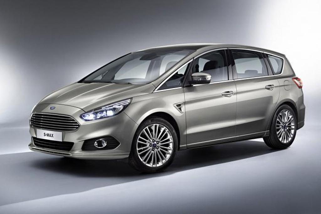Auto Salon Paris, Ford S-Max, Facelift, Mopf, modellpflege, der neue Ford S-Max, Pariser Auto Salon, Ford S-Max 2015, Ford S-Max