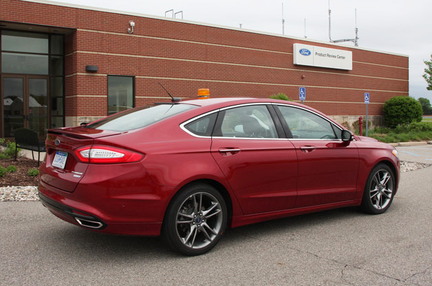 Ford Fusion with Adaptive Steering