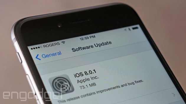 Apple explains how to fix its busted iOS 8 update, new one coming soon