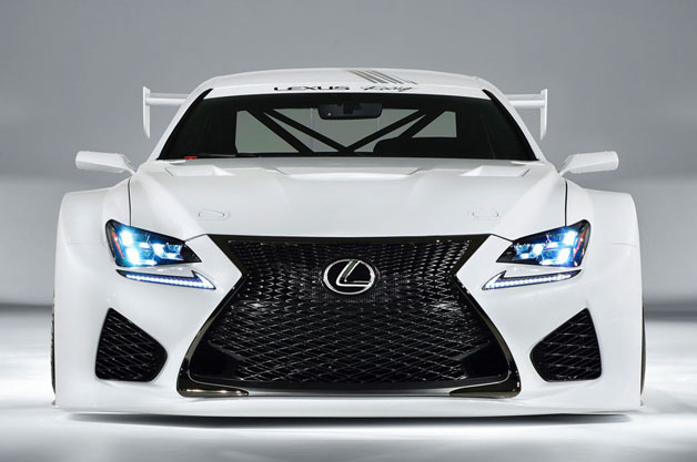 Lexus Considering V8 Supercars Racing Program