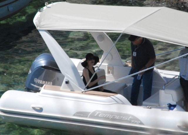 Angelina Jolie and Brad Pitt shooting By The Sea on honeymoon in Malta