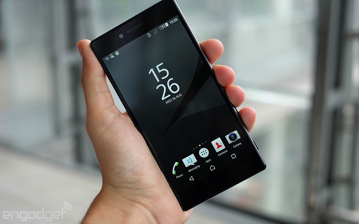 Sony's 4K smartphone shows most content in 1080p
