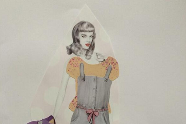 ictoria Beckham shares photo of first fashion creation by daughter Harper
