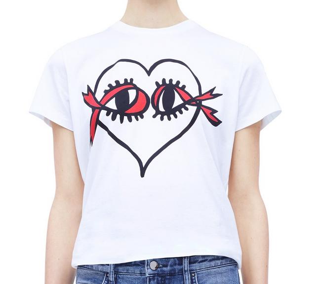 Victoria Beckham designs t-shirt for World AIDS Day