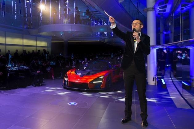 限定500台のマクラーレン「セナ」、最後の1台がチャリティ・オークションに出品され定価の3倍で落札